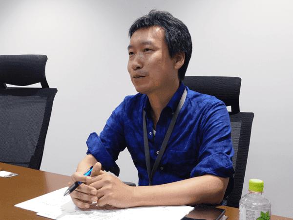 SEGA Holdings Co. Ltd., Web Design Department Director Yukinobu Ushio