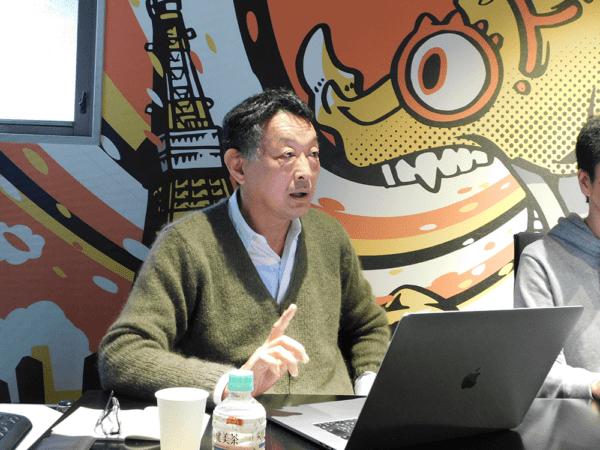 取締役 データソリューション統括部 統括部長 山本 喜士朗氏