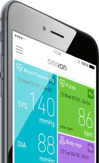 OMRON connect Pro