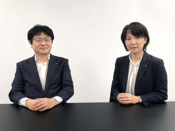 (Right: Prime Strategy CEO Kengyu Nakamura, Left: Prime Strategy Director, CMO Yachiyo Nishimaki)